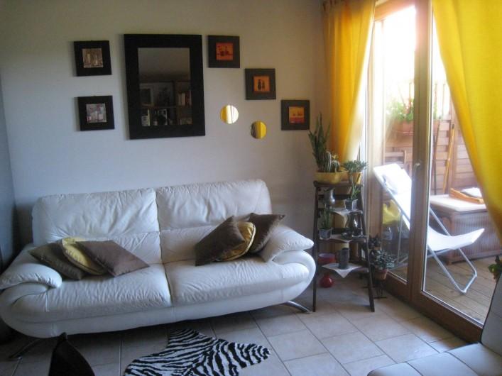 Location de vacances - Appartement à Gérardmer - coin salon