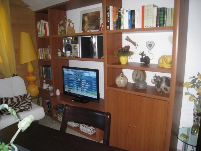 Location de vacances - Appartement à Gérardmer - coin tv