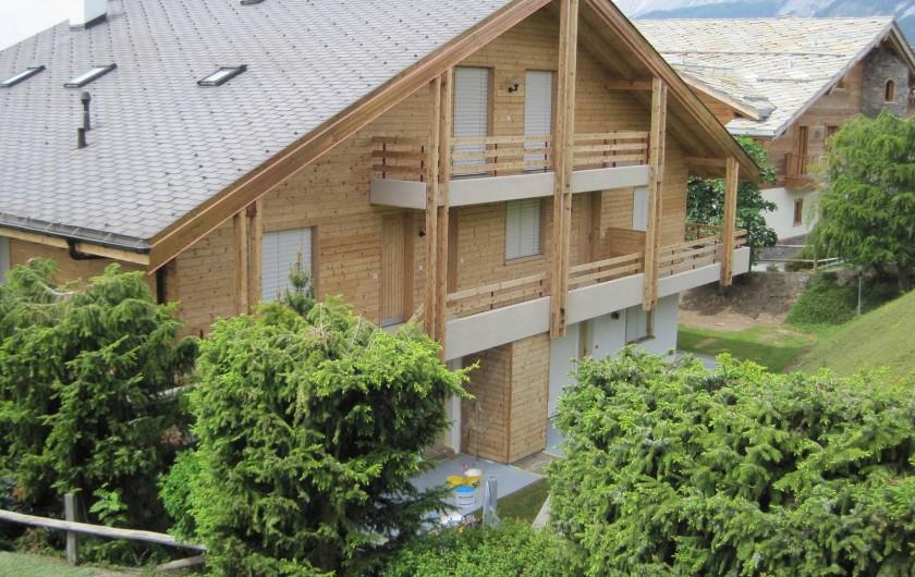 Location de vacances - Chalet à Crans-Montana - Chalet Royal Golf