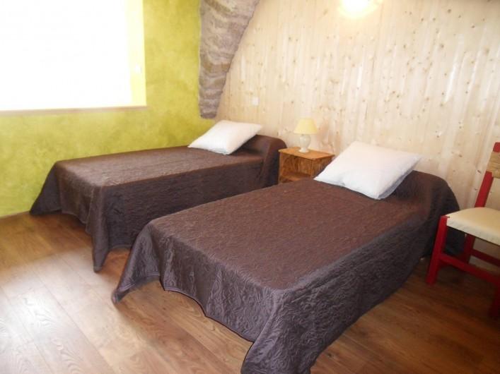 Location de vacances - Gîte à Le Soulié - une chambre