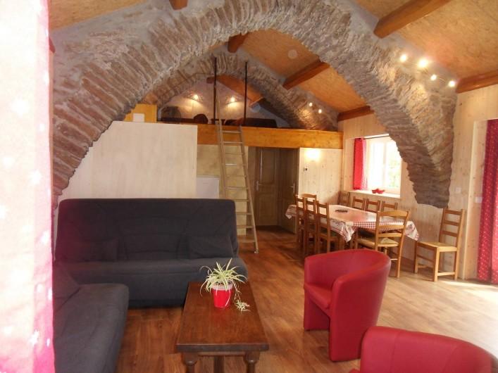 Location de vacances - Gîte à Le Soulié - Vue intérieure Gite des Voutes