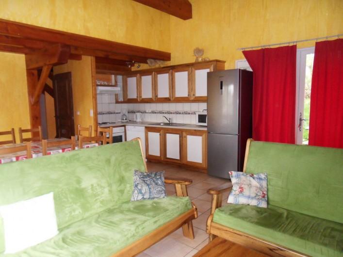 Location de vacances - Gîte à Le Soulié - Intérieur gite du Grand Cèdre