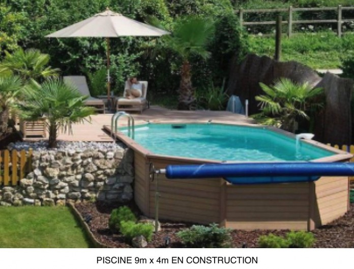 Location de vacances - Gîte à Rocbaron - Piscine 9mx4m