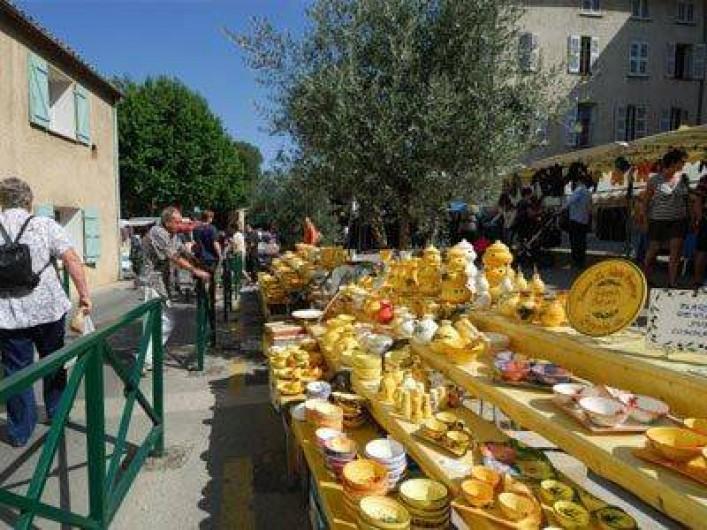 Location de vacances - Gîte à Rocbaron - Marché provençal
