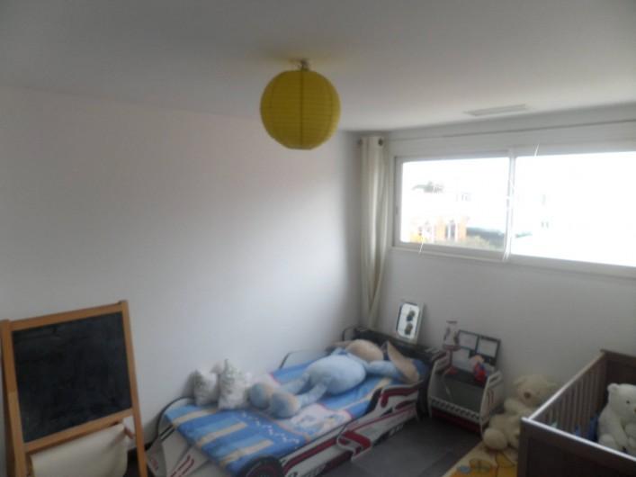 Location de vacances - Villa à Sauvian - Chambre enfant étage  (modifiable nbre lits)