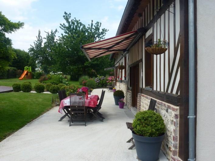 Location de vacances - Gîte à Honfleur - LA THALBANICE