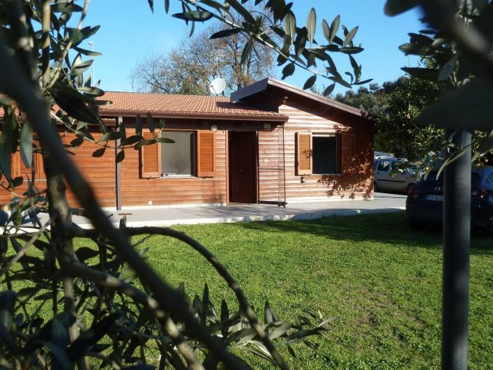Location de vacances - Chalet à Pozzuoli - entrée du chalet