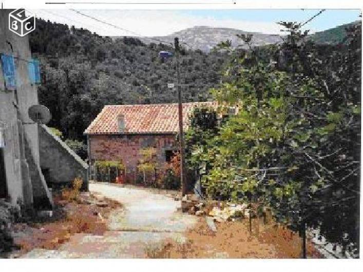 Location de vacances - Maison - Villa à Évisa - vue depuis la route