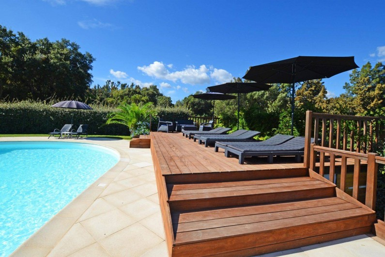 Location de vacances - Appartement à Sainte-Lucie de Porto-Vecchio - BAIN DE SOLEIL