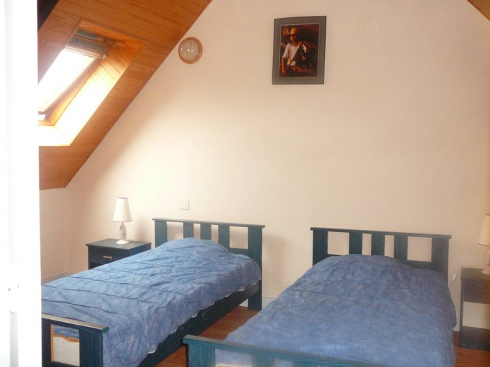 Location de vacances - Maison - Villa à Kermeurzac'h - Chambre avec lits jumeaux
