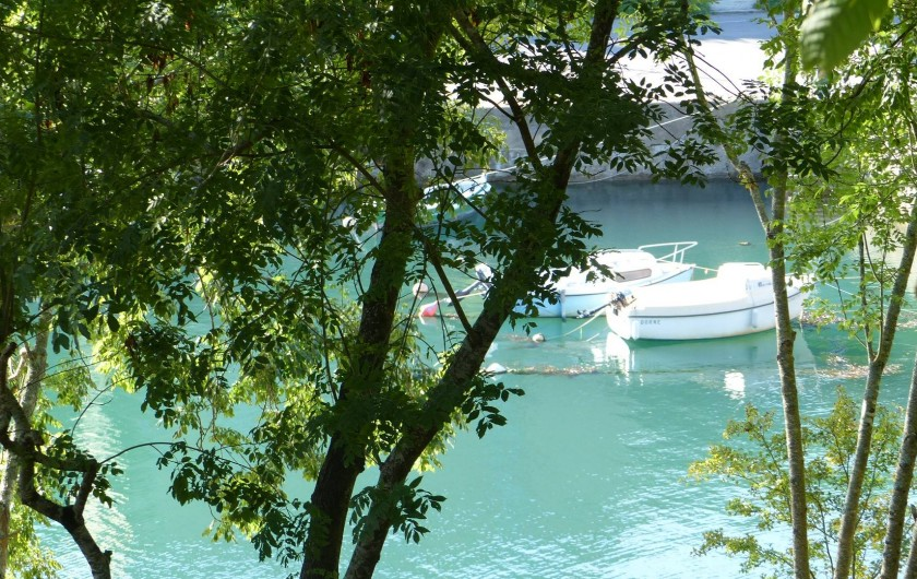 Location de vacances - Maison - Villa à Kermeurzac'h - La magnifique anse de Brigneau à quelques encablures de la maison .
