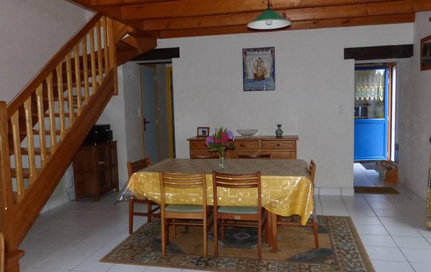 Location de vacances - Maison - Villa à Kermeurzac'h - L'espace repas