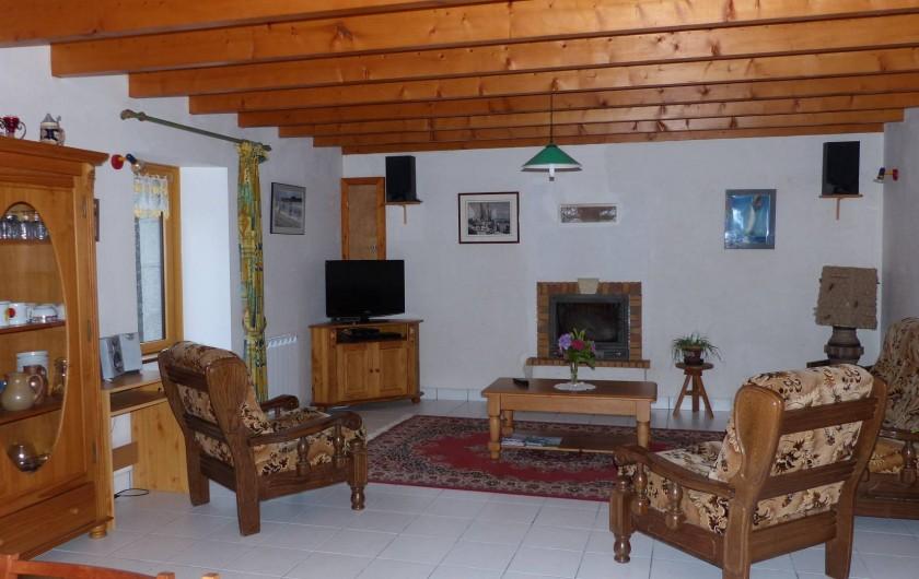 Location de vacances - Maison - Villa à Kermeurzac'h - le coin salon