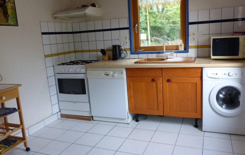 Location de vacances - Maison - Villa à Kermeurzac'h - La cuisine