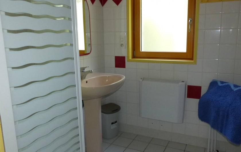 Location de vacances - Maison - Villa à Kermeurzac'h - La salle de bain