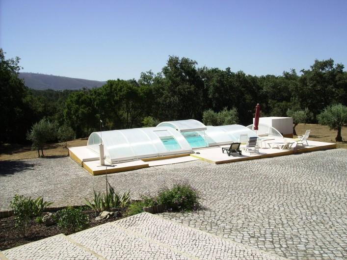Location de vacances - Chambre d'hôtes à Alcobaça - la piscine