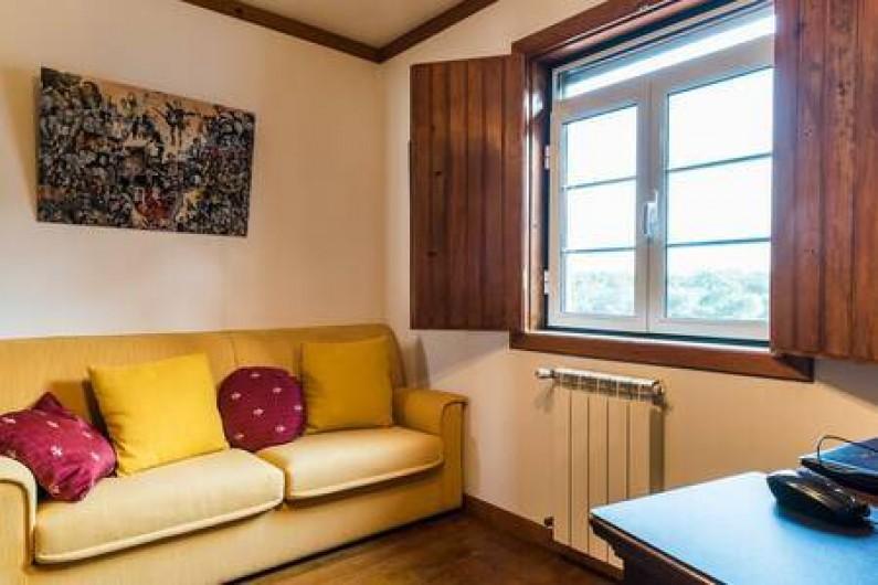 Location de vacances - Chambre d'hôtes à Alcobaça - bureau avec canape lit