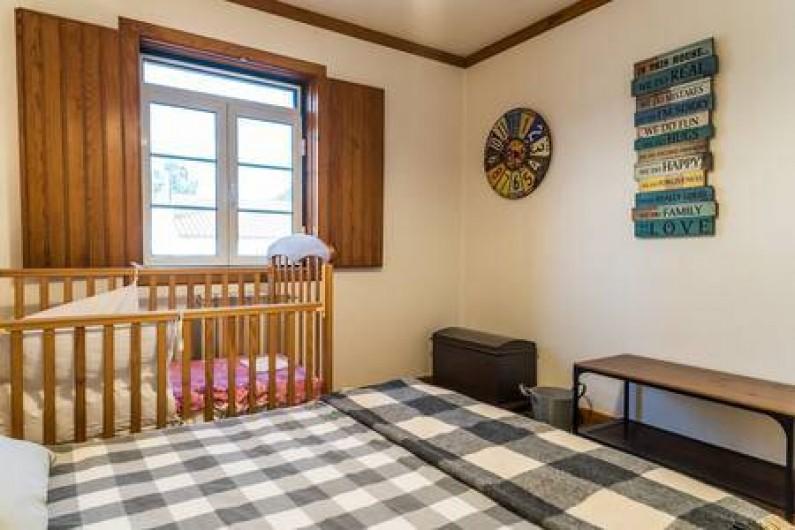 Location de vacances - Chambre d'hôtes à Alcobaça - chambre gris chambre de l´horloge