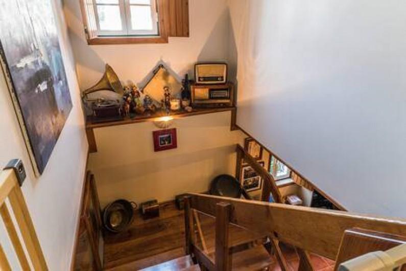 Location de vacances - Chambre d'hôtes à Alcobaça - l´éscalier