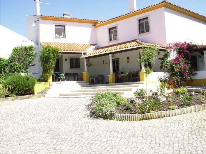 Location de vacances - Chambre d'hôtes à Alcobaça - vue de la maison