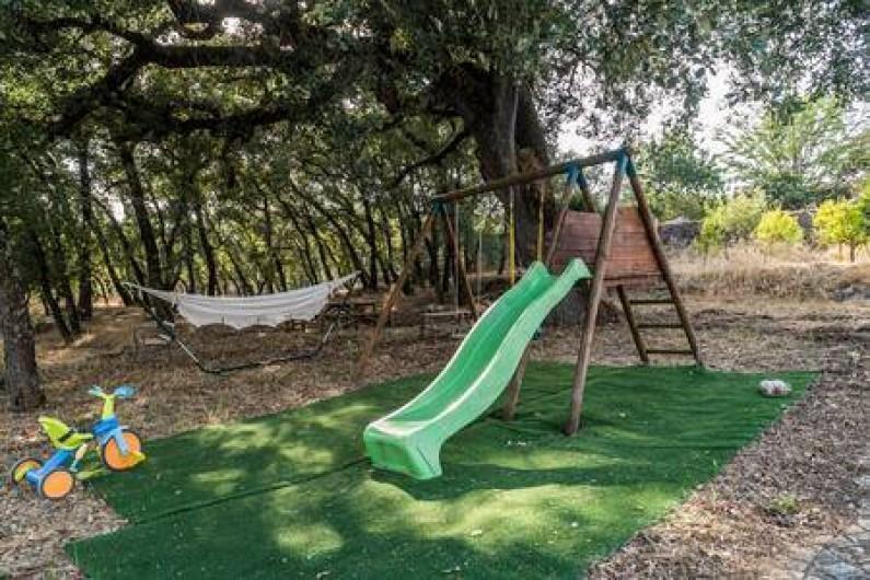 Location de vacances - Chambre d'hôtes à Alcobaça - parc infantil