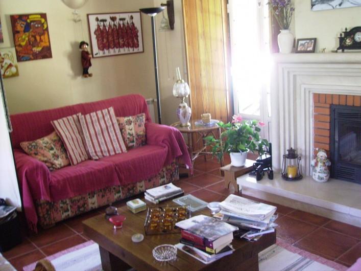 Location de vacances - Chambre d'hôtes à Alcobaça - salle de séjour