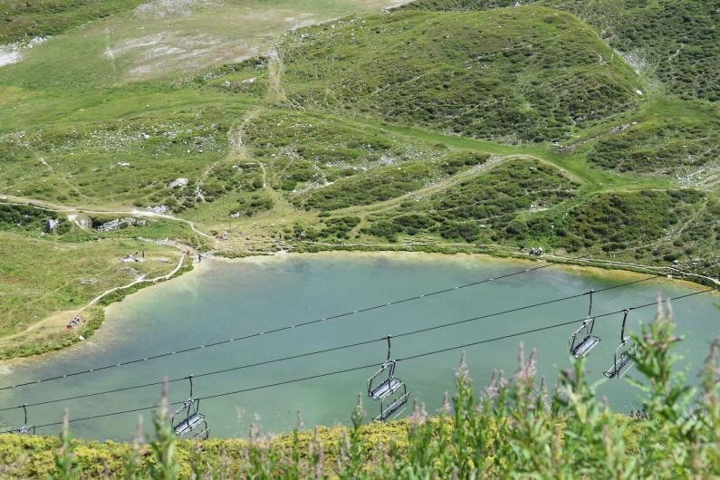 Location de vacances - Studio à Belle Plagne - Lac du Carroley