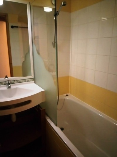 Location de vacances - Studio à Belle Plagne - Salle de bain