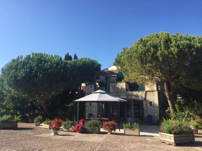 Location de vacances - Gîte à Saint-Pierre-d'Oléron - JARDIN