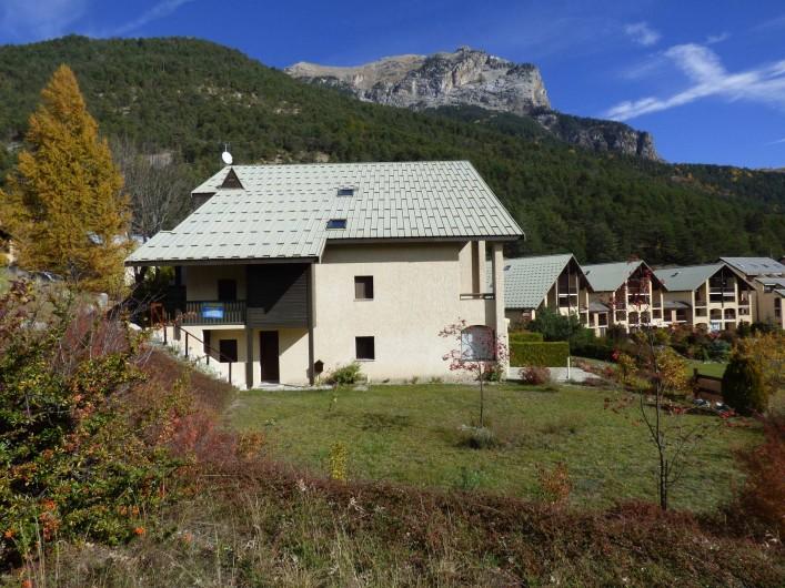 Location de vacances - Appartement à Vallouise - vue d ensemble sur l appartement