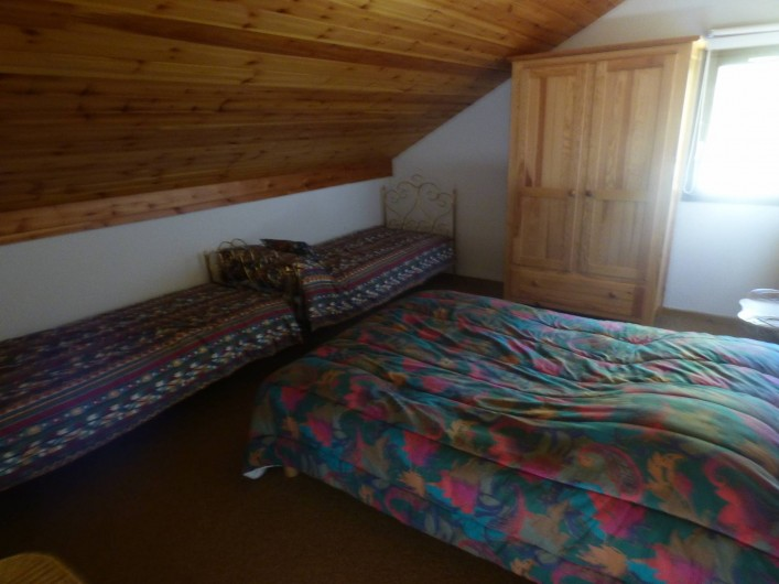 Location de vacances - Appartement à Vallouise - chambre 2 a l étage