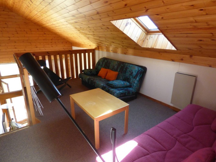Location de vacances - Appartement à Vallouise - mezzanine