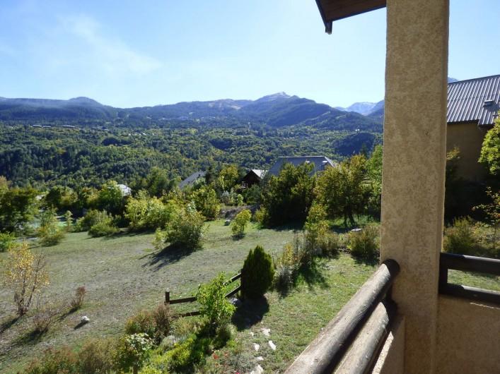 Location de vacances - Appartement à Vallouise - vue du balcon