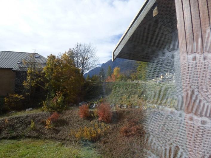 Location de vacances - Appartement à Vallouise - vue de la fenêtre de coin repas