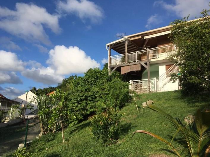 Location de vacances - Appartement à Sainte-Anne - Vue du jardin
