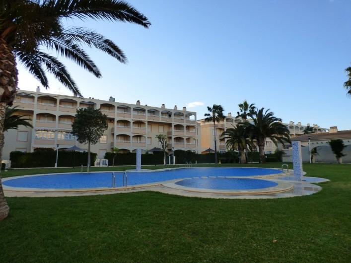 Location de vacances - Appartement à Dénia - BASSIN