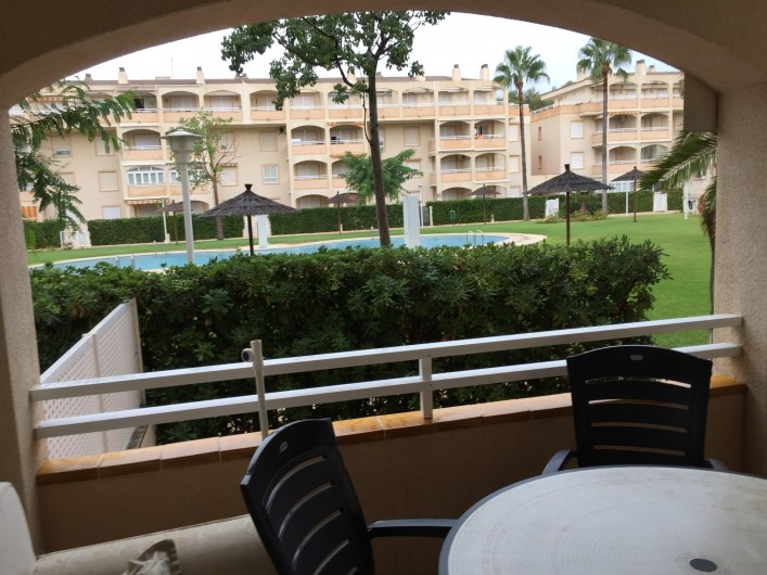 Location de vacances - Appartement à Dénia - TERRASE