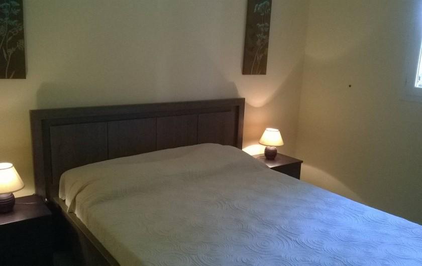 Location de vacances - Chalet à Petreto-Bicchisano - Chambre St Bastianu