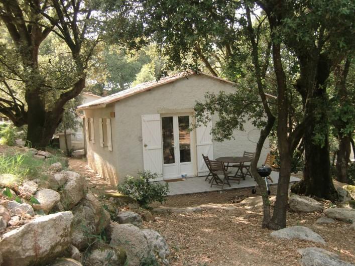 Location de vacances - Chalet à Petreto-Bicchisano - St Petru