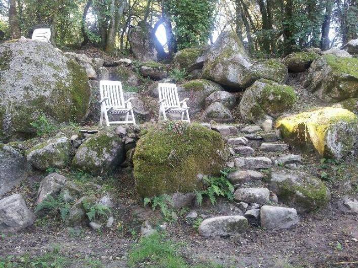 Location de vacances - Chalet à Petreto-Bicchisano