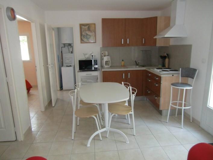 Location de vacances - Chalet à Petreto-Bicchisano - Cuisine St Martinu