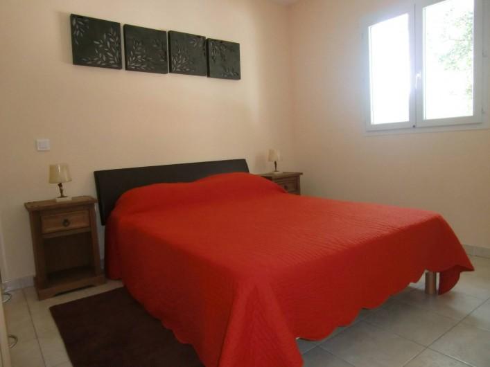 Location de vacances - Chalet à Petreto-Bicchisano - Chambre St Martinu