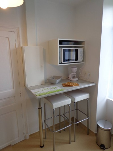 Location de vacances - Appartement à Guéret - espace repas