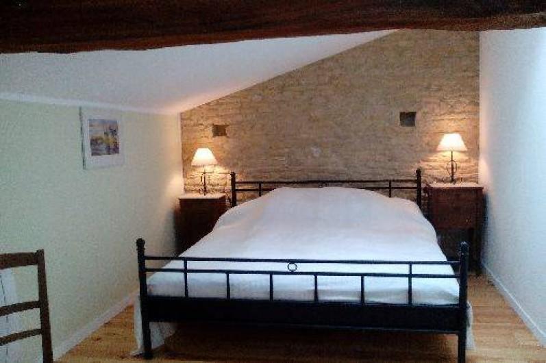 Location de vacances - Gîte à Haimps - chambre 2 avec lit double 160*200