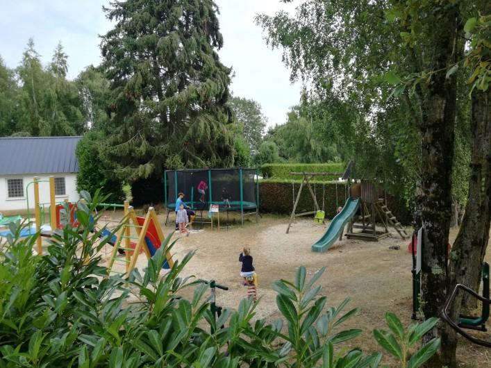 Location de vacances - Camping à Mézières-sous-Lavardin - bengali toilé