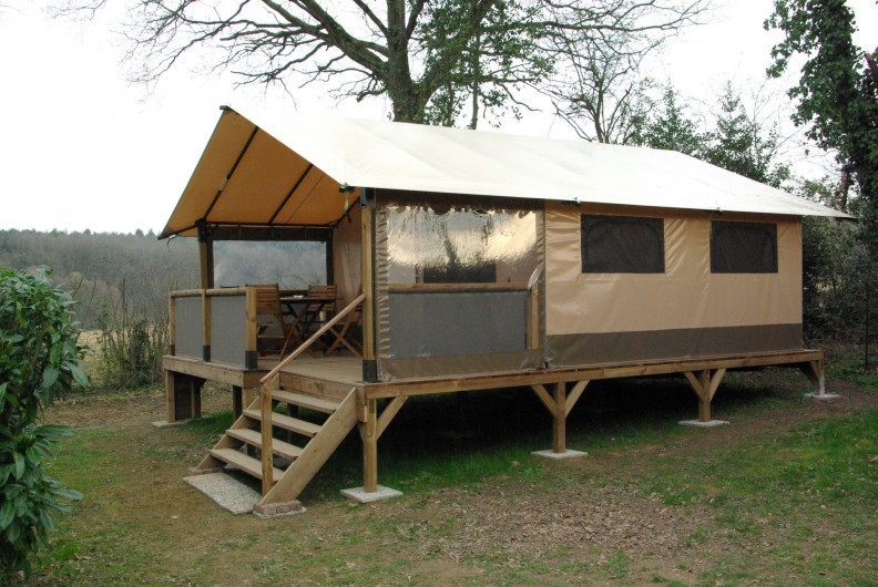 Location de vacances - Camping à Mézières-sous-Lavardin - Lodge Victoria