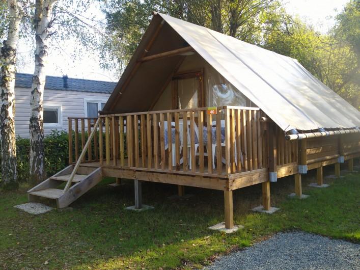 Location de vacances - Camping à Mézières-sous-Lavardin - La lodge Amazone