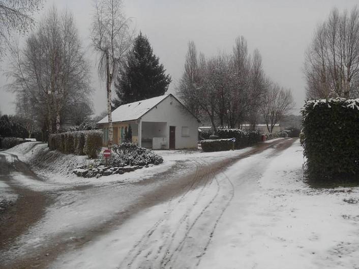 Location de vacances - Camping à Mézières-sous-Lavardin - les sanitaires en Hiver