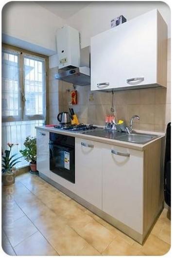 Location de vacances - Appartement à Rome - cuisine équipée