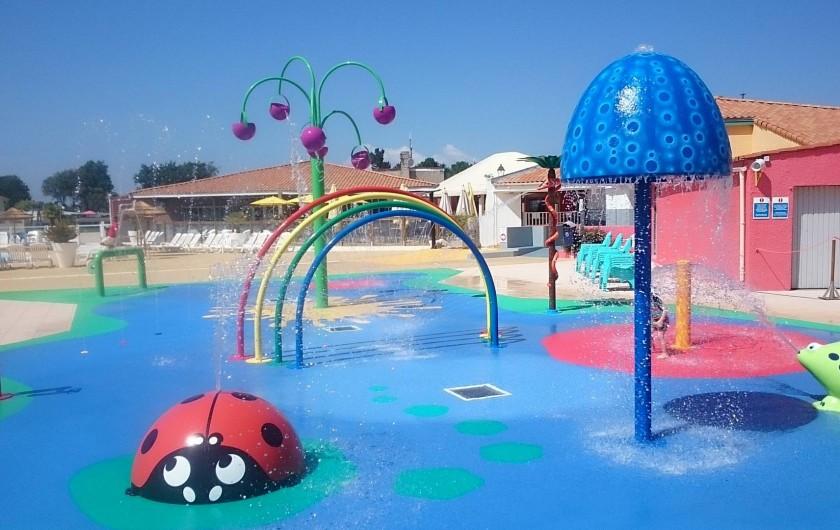 Location de vacances - Bungalow - Mobilhome à Les Mathes - Zone aquatique enfants ext